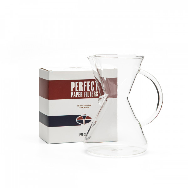 Set Saint Anthony G70 Brewing Vessel + P70 Perfect Paper Filters